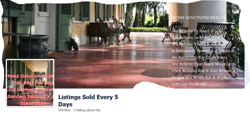 home sold every 5 days